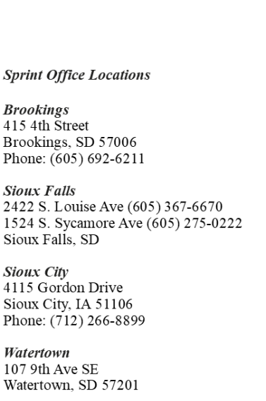 Sprint Offices