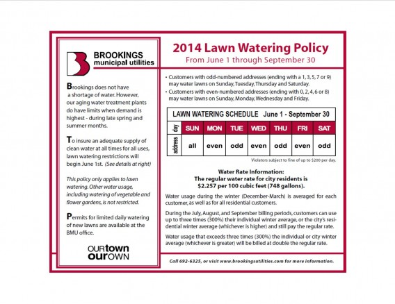 2014 June 1 through September 30 Lawn Watering Policy.pdf